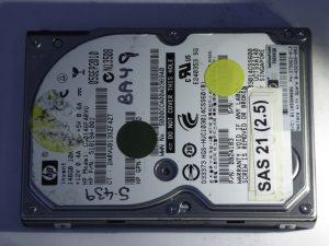 HP-DG0146FARVU-0B24183-SAS21(2.5)-Front