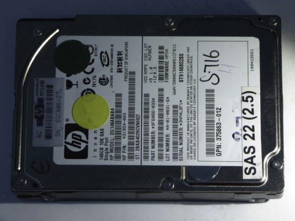 HP-DG146ABAB4-9F6066-033-SAS22(2.5)-Front