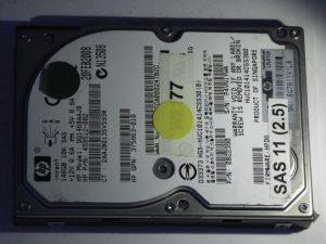 HP-DG146BAAJB-0B22390-SAS11(2.5)-Front