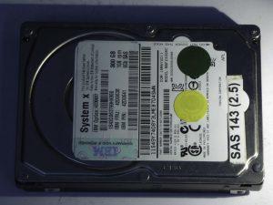 IBM-MBF2300RC-CA07173-B27100BB-SAS143(2.5)-Front