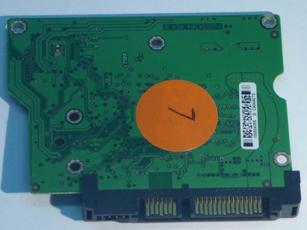 Seagate-ST3160813AS-100504364 REV B-9FZ181-301-ID7-Front