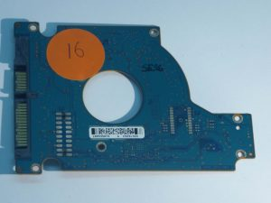 Seagate-ST9160411AS-100513573 REV D-9GE14D-070-ID16-Front