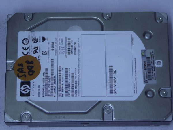 HP-EF0300FARMU-9FL066-035-SAS448-Front