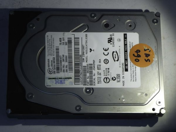 IBM-HUS151473VLS300-0B20995-SAS490-Front