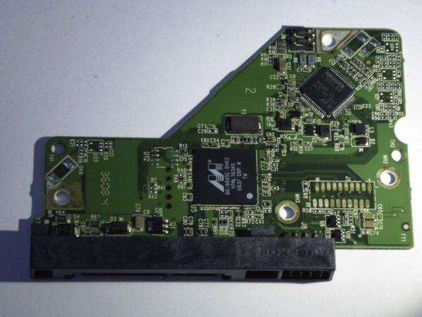 Western Digital-WD1600AAJS-60B4A0-2060-701537-003 REV A--ID2161-Back