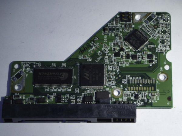Western Digital-WD2500AAJS-08L7A0-2060-701590-001 REV A--ID2999-Back