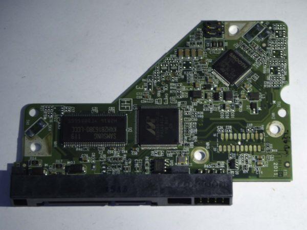 Western Digital-WD3200AAKX-753CA1-2060-771640-003 REV A--ID2987-Back