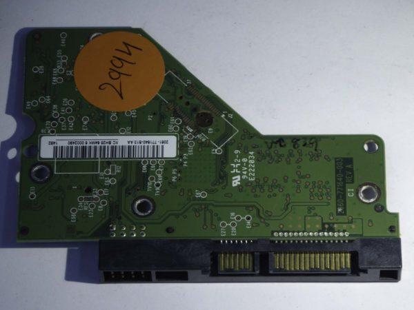 Western Digital-WD5000AAKX-603CA0-2060-771640-003 REV A--ID2994-Front