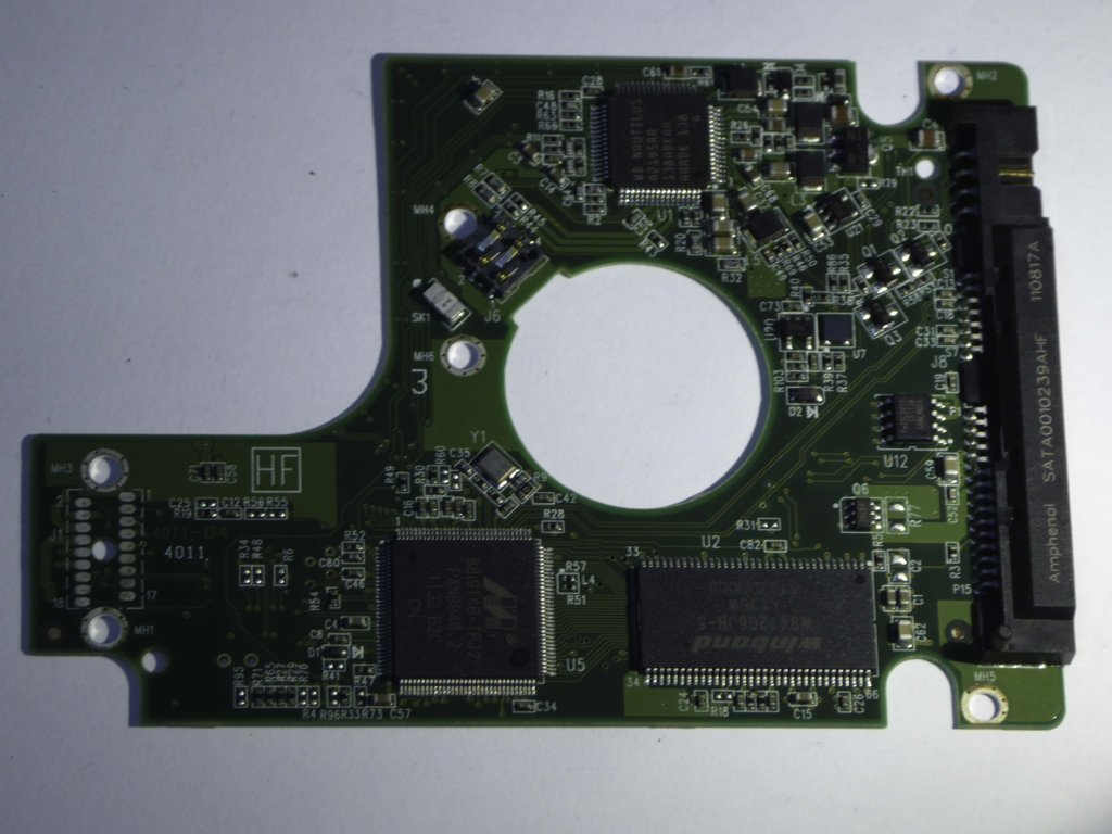 Western Digital PCB Hard Drive Circuit Controller Board 2060-771820-000 REV A