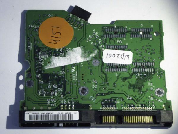 Western Digital-WD2000JD-00FYB0-2060-001215-003 REV A--ID4151-Front