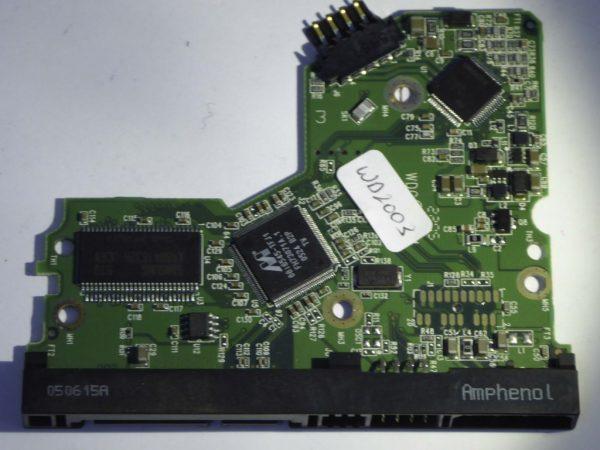 Western Digital-WD2000JS-00MHB0-2060-701335-003 REV B--ID4153-Back