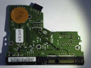 Western Digital-WD2000JS-00MHB0-2060-701335-005 REV A--ID4160-Front
