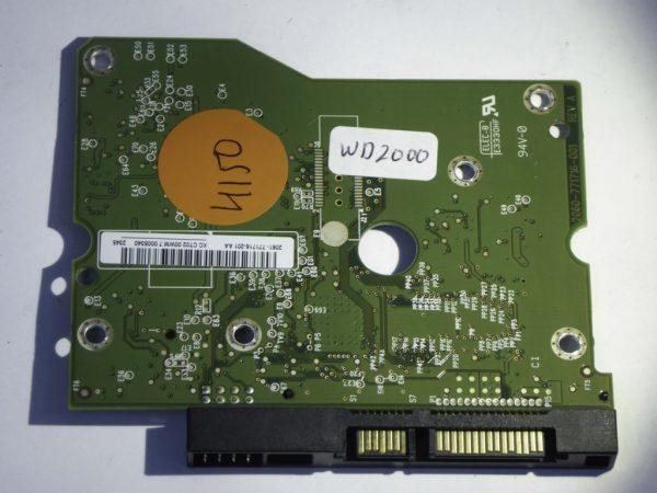 Western Digital-WD30EZRX-00AZ6B0-2060-771716-001 REV A--ID4150-Front