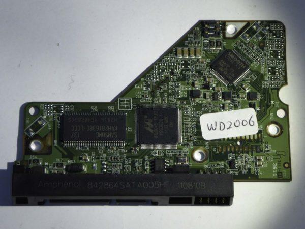 Western Digital-WD5000AAKX-001CA0-2060-771640-003 REV A--ID4156-Back