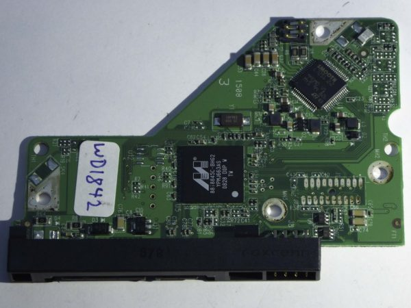 Western Digital-WD6400AAVS-00G9B0-2060-701537-004 REV A--ID3992-Back